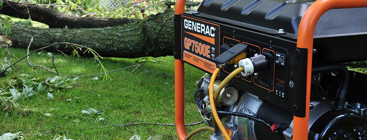 Generators for power outages, blackouts, recreation and electricity loss