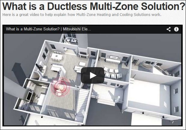 Ductless Mutizone Video