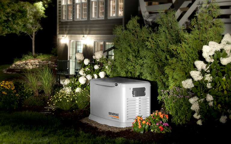 Generac-bushes-flowers
