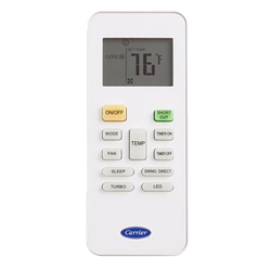 Carrier-ductless-remote