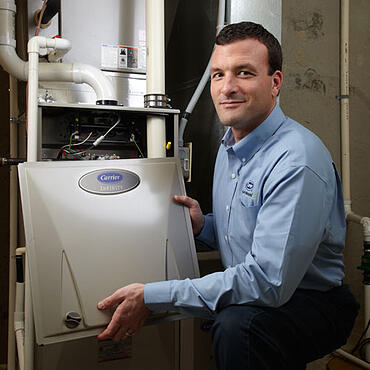 Carrier gas furnaces