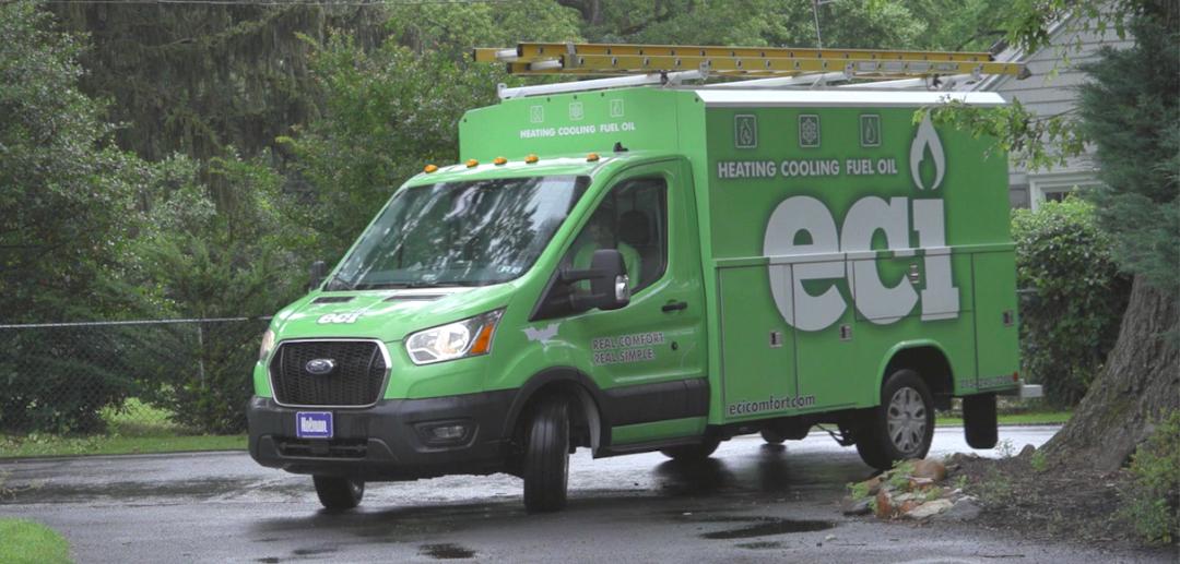 ECI truck arriving-1
