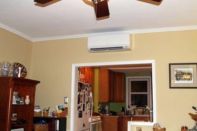 Fairmount Philadelphia ductless air conditioning hvac