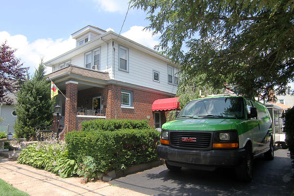 Bristol Borough home and salon on Adams Street