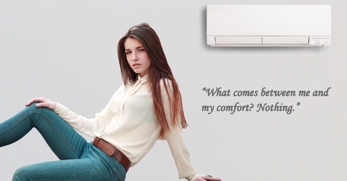 Comfort Klein Ad