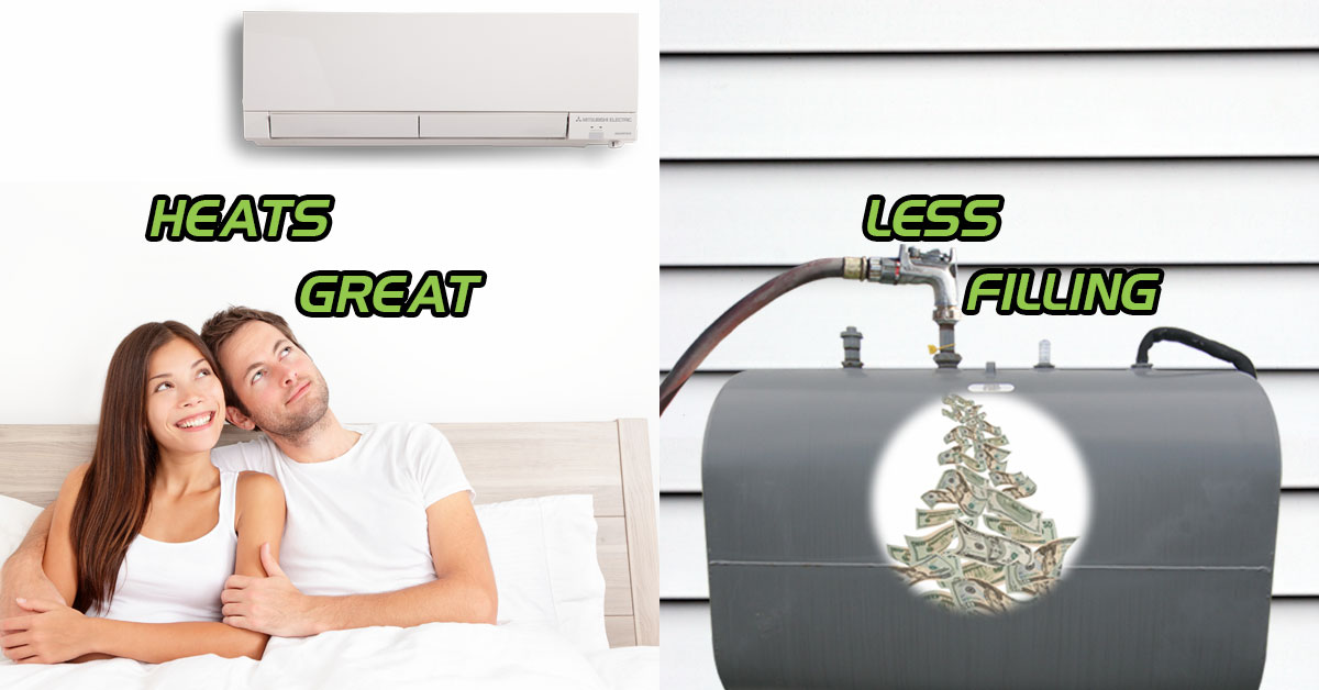 Heats Great, Less Filling